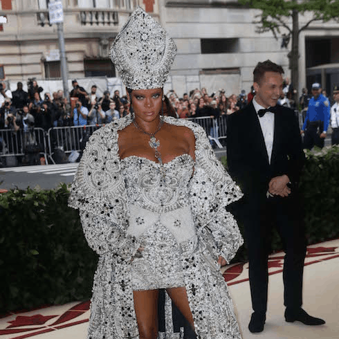 Pope Rihanna 2