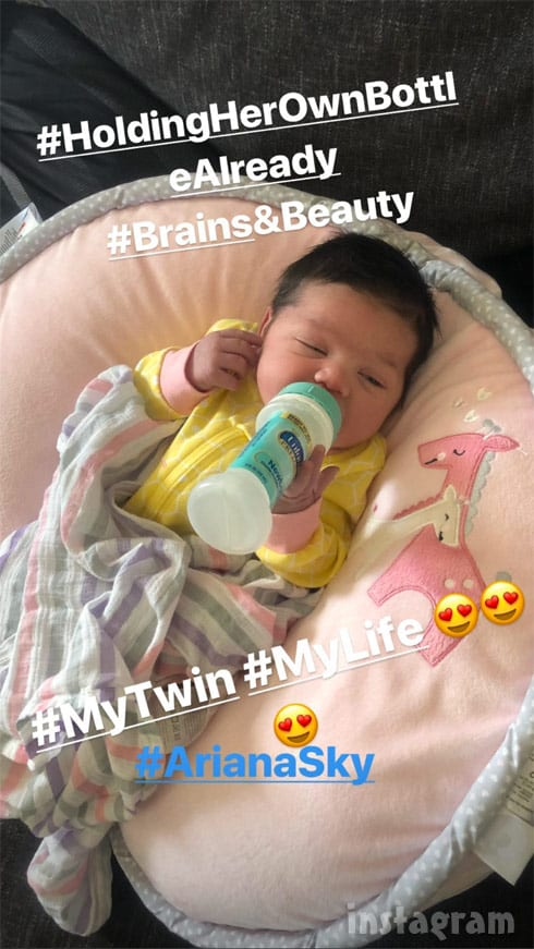 Ronnie Ortiz-Magro's baby daughter Ariana Sky