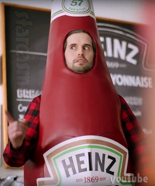 Ryan Edwards Heinz ketchup commercial