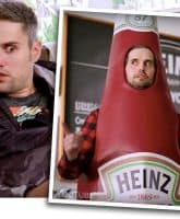 Ryan Edwards ketchup commercial
