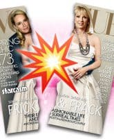 Sonja Morgan Ramona Singer Vogue cover torn