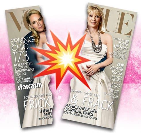 Sonja Morgan Ramona Singer Vogue cover torn