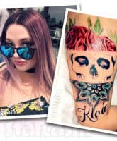 Teen Mom Young and Pregnant Jade Cline tattoo