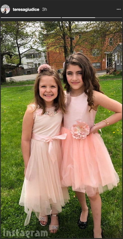 Teresa Giudice daughter Audriana at Danielle Staub's weddingin the Bahamas