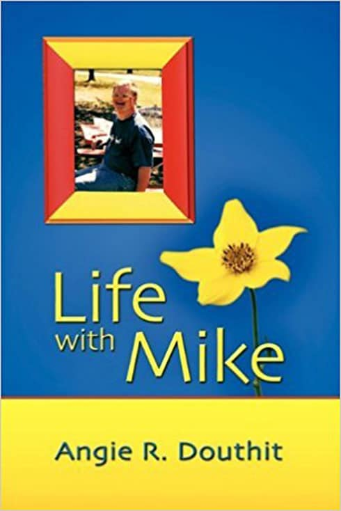 Angie Douthit book cover Life With Mike