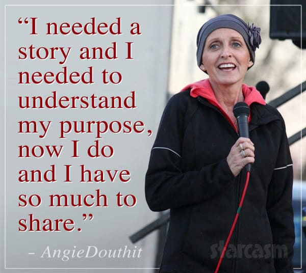 Angie Douthit public speaking quote