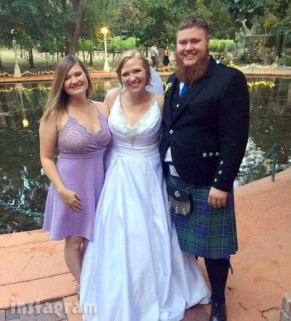 Aspyn Brown and Mitch Thompson wedding photos