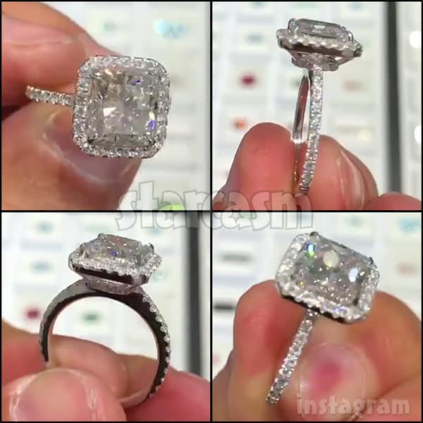 Brittany Cartwright engagement ring