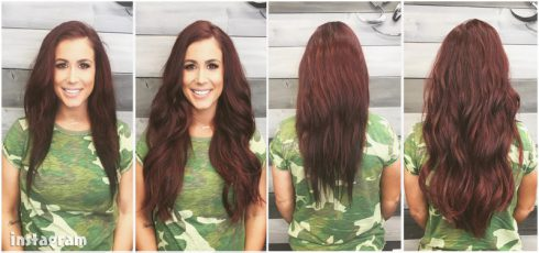 Chelsea Houska hair extensions