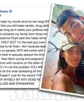 David Eason attacks MTV on Facebook