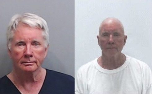 Diane McIver Tex McIver mug shots Dec 2016 May 2018