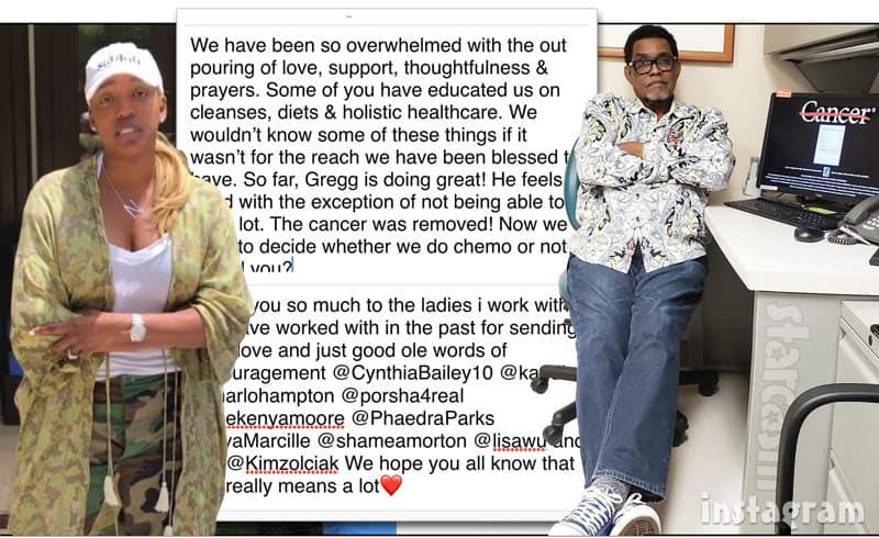 Gregg Leakes cancer update
