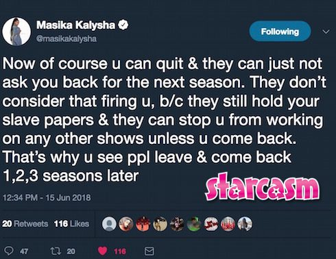 Is Masika Kalysha still on LHHH 6