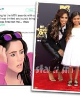 Jenelle Evans Eason Farrah Abraham Sophia MTV Movie Awards invite feud