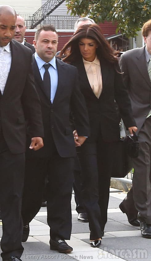 Joe Giudice and Teresa Giudice court appearance together