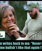 Nathan Griffith and David Eason's mom Laura Eason