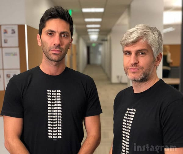 Nev Schulman Max Joseph we call BS shirts