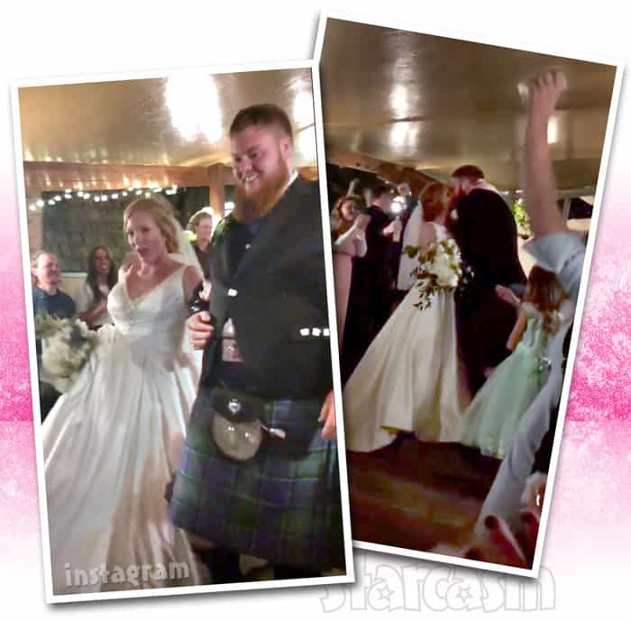 Sister Wives Aspyn Mitch wedding photos
