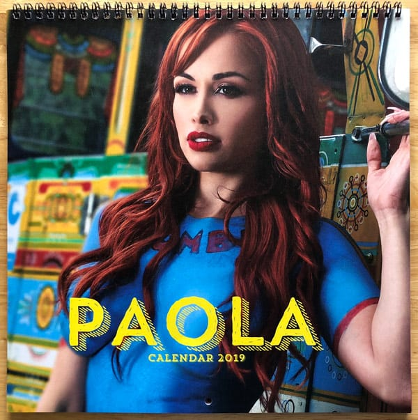 90 Day Fiance Paola Mayfield calendar 2019