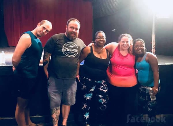 Big Gril Dance Class Tour Whitney Thore Buddy Todd and fans