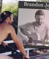 Brandon Jenner nude new EP Face the World