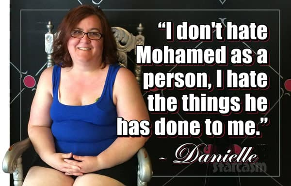 90 Day Fiance Danielle Jbali Mohamed quote