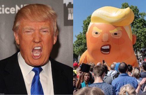 Donald Trump balloon baby 9