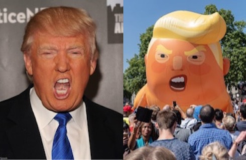 Donald Trump balloon baby 9