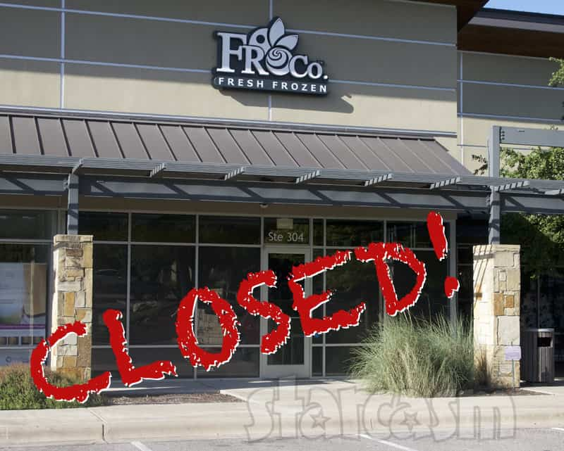 Farrah Abraham's Froco frozen yogurt shop is closed