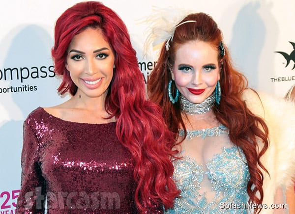 Farrah Abraham and Phoebe Price together