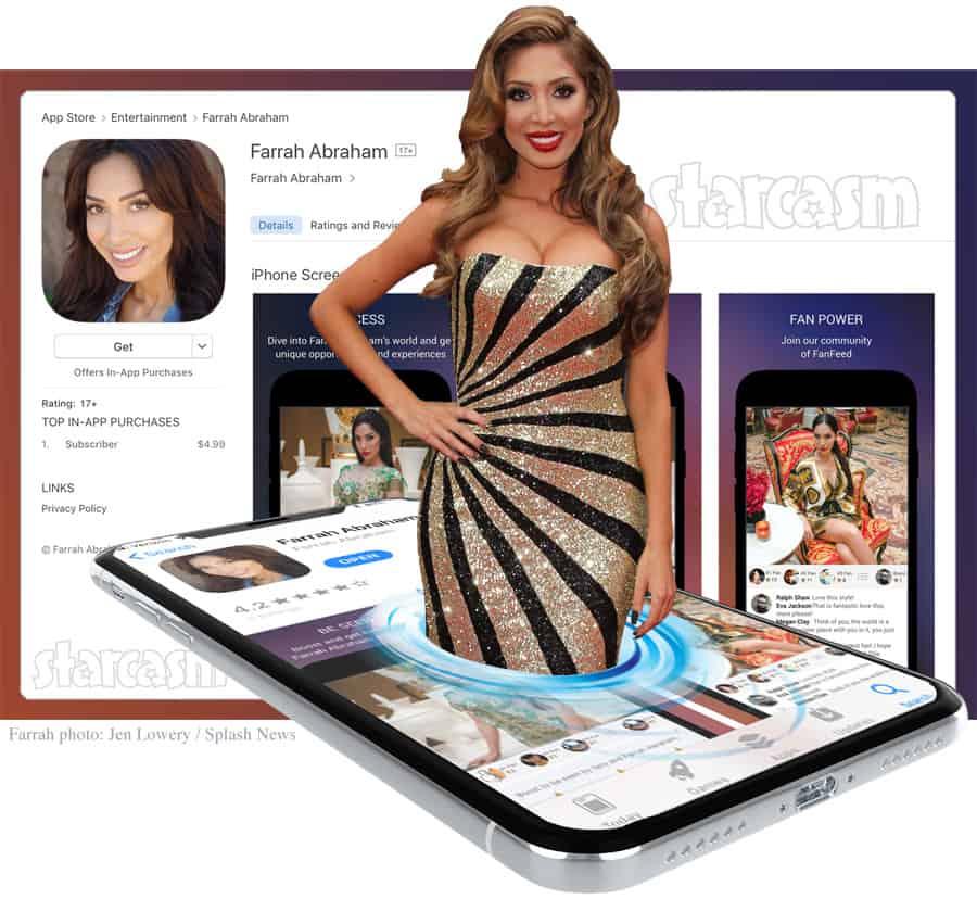 Farrah Abraham app
