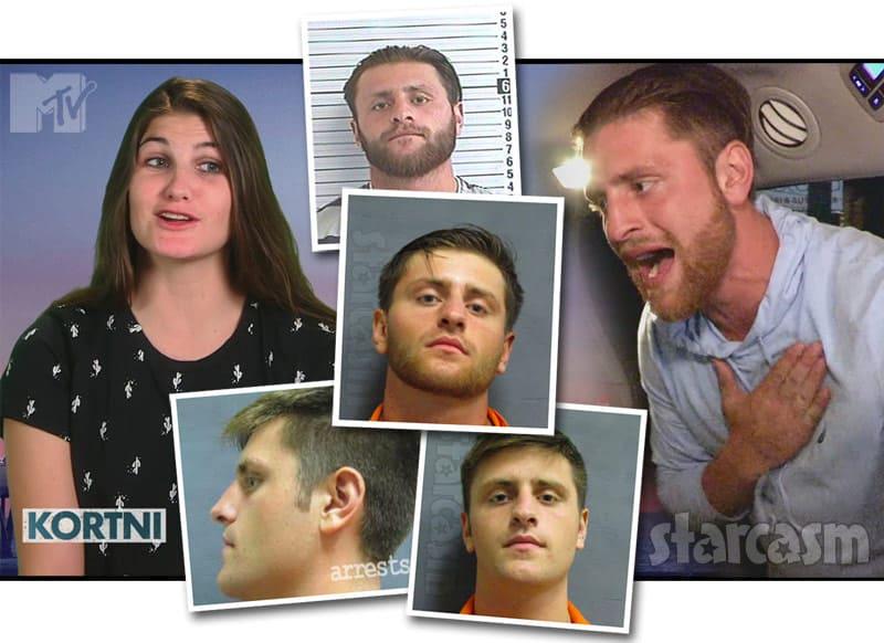 Floribama Shore Kortni's boyfriend Logan arrests