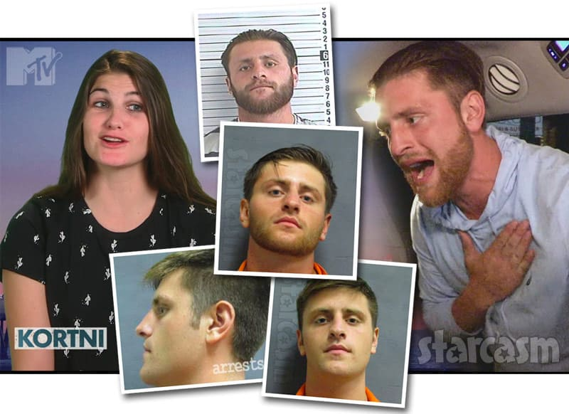 Floribama Shore Kortni's boyfriend Logan arrests