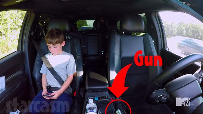 Jace left alone with a gun in Teen Mom 2 road rage scene