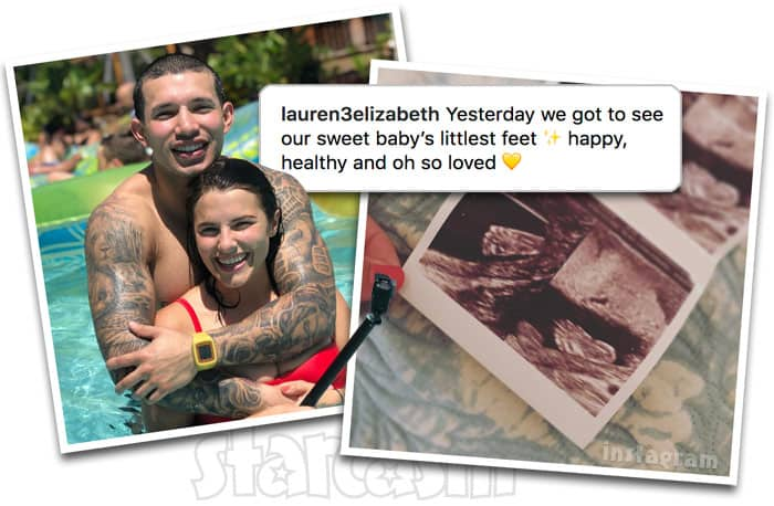 Teen Mom 2 Javi Marroquin pregnant girlfriend Lauren Comeau sonogram