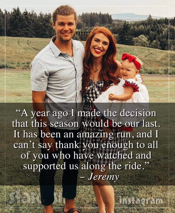 Jeremy Roloff quits Little People, Big World announcement quote