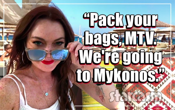 Lindsay Lohan Beach Club MTV reality series