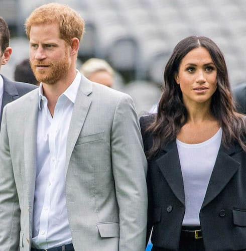 Meghan and Harry furious
