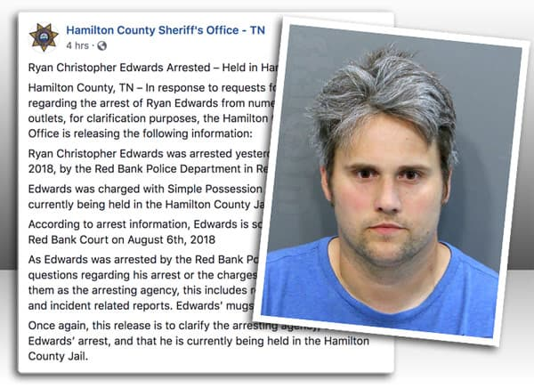 Teen Mom Ryan Edwards arrest update