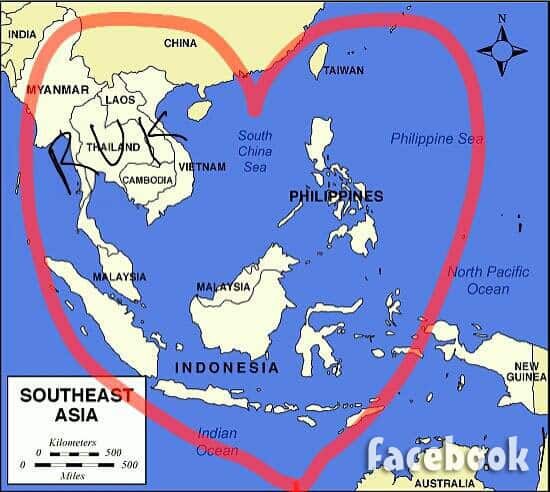 Before the 90 Days Tarik Southeast Asia map Facebook