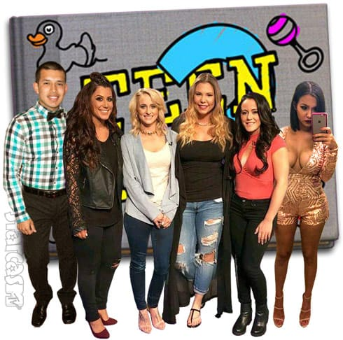 Teen Mom 2 cast photo with Javi