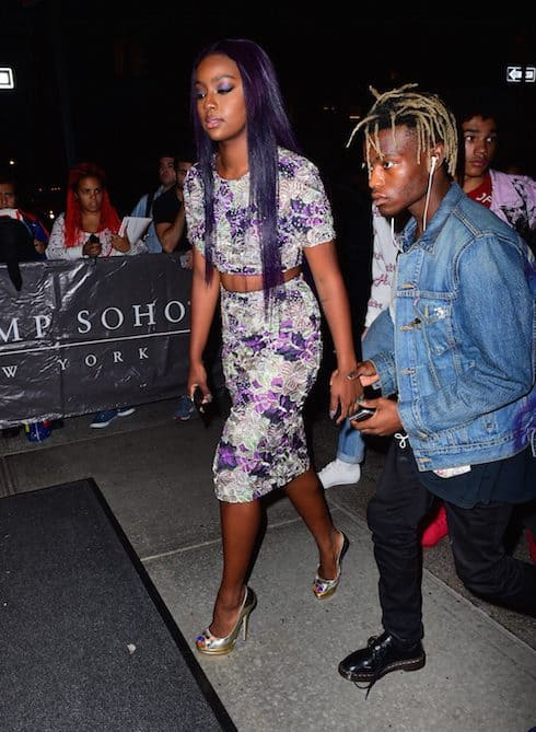 Who is Tommie dating Ian Connor and Justine Skye
