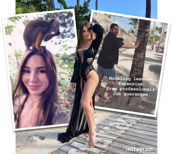 90 Day Fiance Anfisa and Jorge in the Dominican Republic on vacation