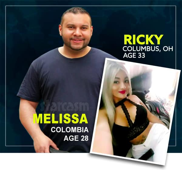 Before the 90 Days Ricky and Melissa catfish