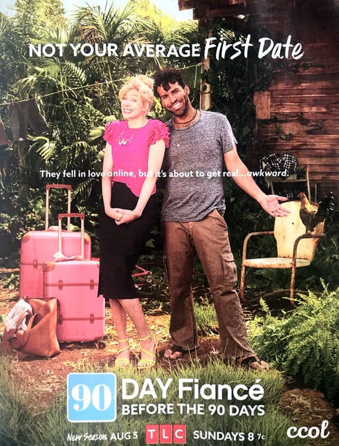 Before the 90 Days mystery couple magazine ad - Who are they?