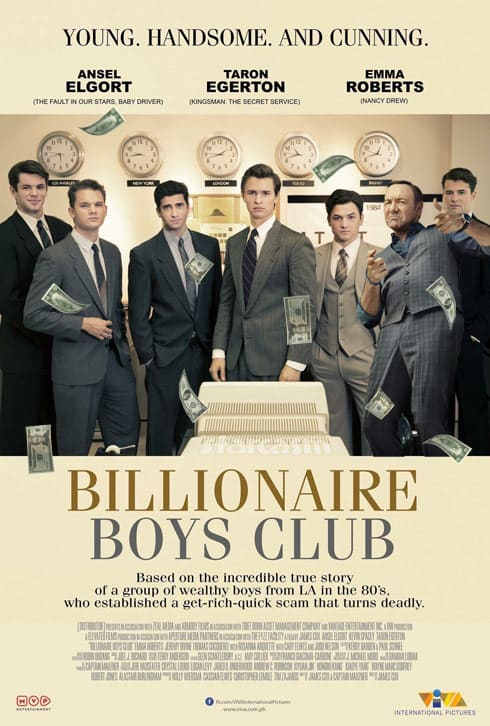 Billionaire Boys Club Kevin Spacey
