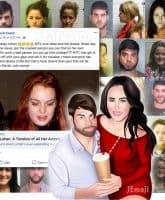 David Eason Jenelle Evans mug shots Lindsay Lohan