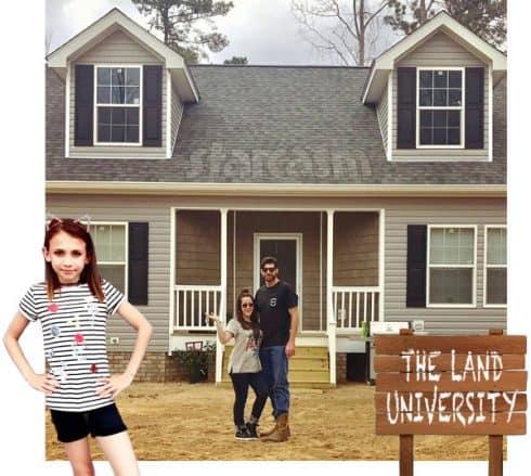 David and Jenelle Eason homeschooling Maryssa