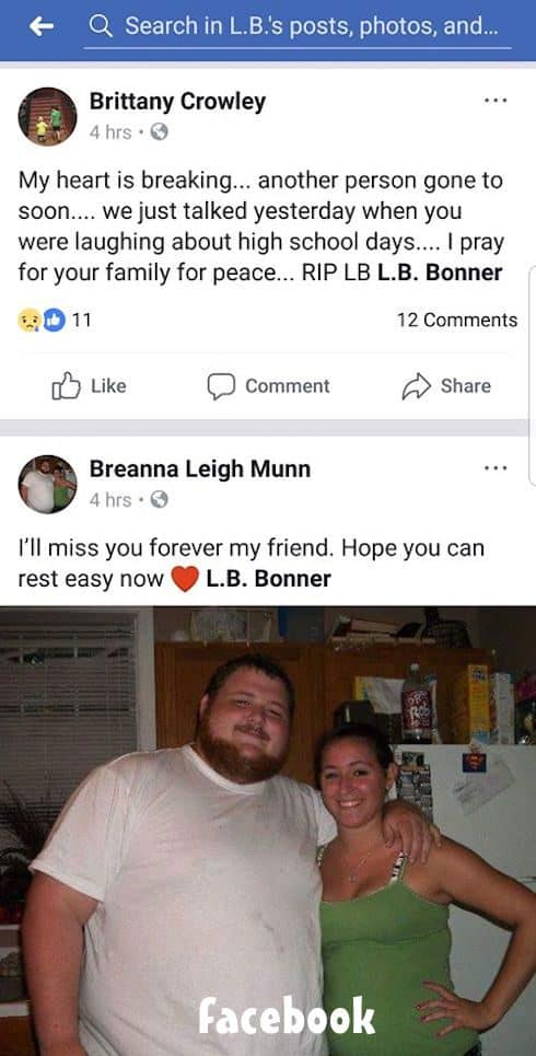Did LB Bonner die 7