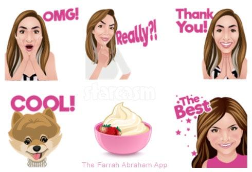 Farrah Abraham emoji